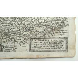 Magyarország térképe 1592, Quad