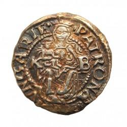 I. Ferdinánd dénár 1547 K-B Éh.745.