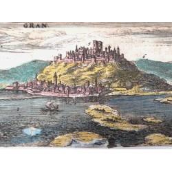 Esztergom látképe 1664