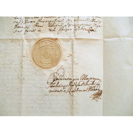 Szatmár megye oklevele 1725