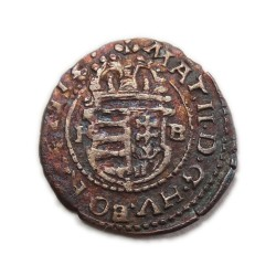 II. Mátyás dénár 1612 K-B ÉH.869