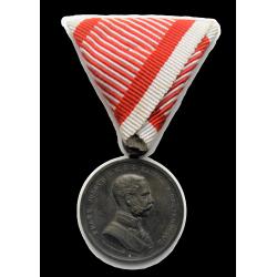 Ferenc József Vitézségi érem bronz fokozat 1914