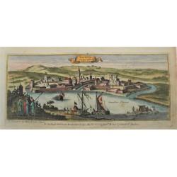 Vác látképe 1686 Peeters