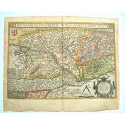 Magyarország térképe 1595 Ortelius