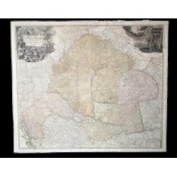 Magyarország térképe 1720, Homann