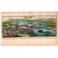 Szigetvár látképe, 1686