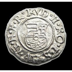 Rudolf dénár Éh.811a K-B 1595