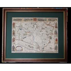 Magyarország térképe 1676, Speed J. London