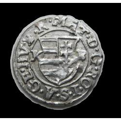II. Mátyás dénár 1619 ÉH.870 K-B