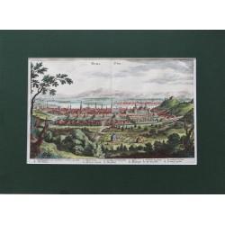 Buda látképe-Merian Matthaus 1638-1694
