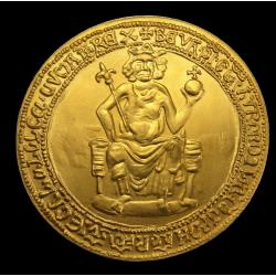 IV. BÉLA  BULLÁJA 1 unciás arany emlékérme RITKA