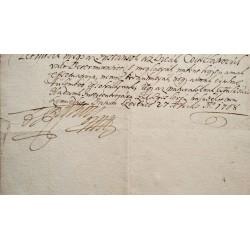 Miskolc város levele II. Rákóczi Ferenchez 1708