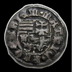 I. (Hunyadi) Mátyás dénár ÉH.562