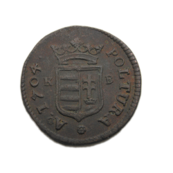 II. Rákóczi Ferenc poltura 1704 K-B
