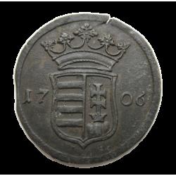 II. Rákóczi Ferenc X poltura (1706)