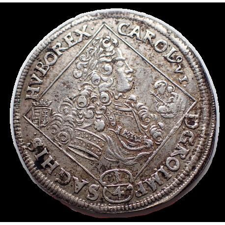 Károly 1/4 tallér 1715 N-B Nagybánya
