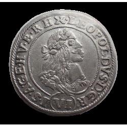 I.Lipót VI. krajcár 1669 K-B