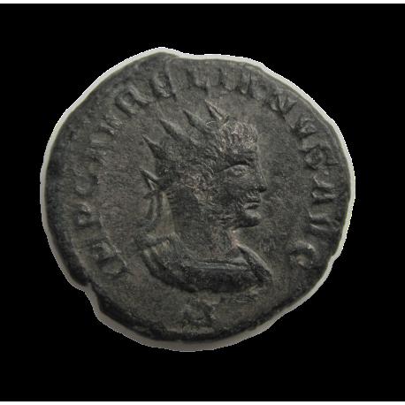 Aurelianus és Vabalatus antoninian Antiochia