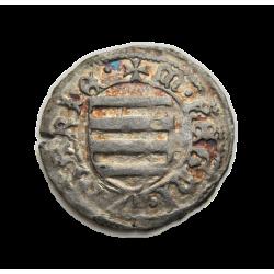Hunyadi János dénár Éh.485 Buda
