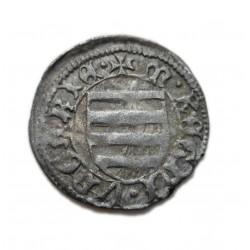 Hunyadi János dénár Éh.485 B-n* Buda