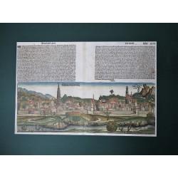 Hartmann Schedel: Bécs városának látképe
