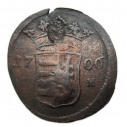 II. Rákóczi Ferenc X poltura (1706) C-M Kassa dupla ellenjegy