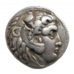 Nagy Sándor nevében I.Seleukos Nikator tetradrachma