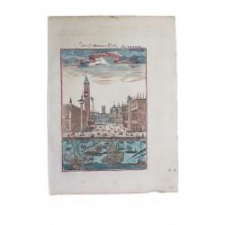 Velence,Szent Márk tér látképe / 1719