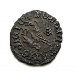 I. (Hunyadi) Mátyás dénár ÉH.558 n-e Nagybánya
