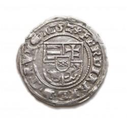 I. Ferdinánd denar 1552  H-P Pozsony