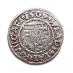II. Ulászló denár 1509 Verdejel:  -G