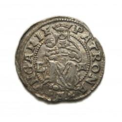 II. Lajos denár1526 Buda