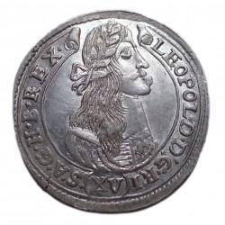 I.Lipót XV. krajcár 1677 K-B