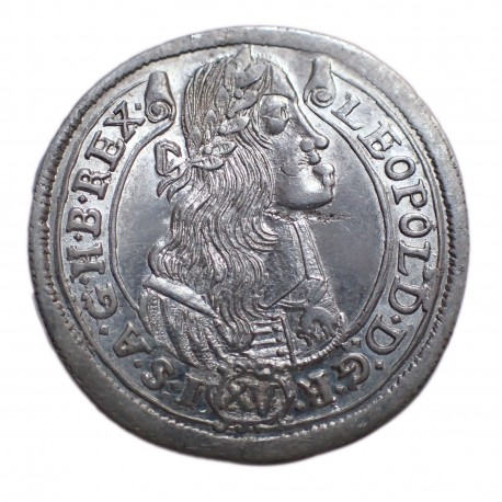I.Lipót XV. krajcár 1675 K-B