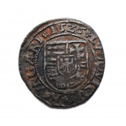 II. Lajos dénár (1526) N-A