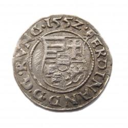 I. Ferdinánd denar 1552 K - B