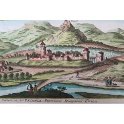 Drégelypalánk látképe, 1686