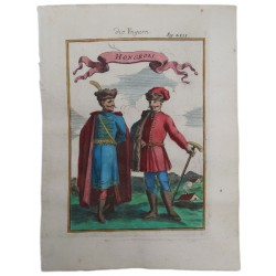 Mallet: Két magyar vitéz portréja 1729