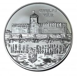 Ezüst 5000 Forint Magyar várak Gyula