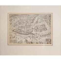 Matthias Zündt : Gyula 1566 -os ostroma /metszet 1566/