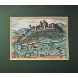 Houfnagel: Nagysáros várának látképe /1617/