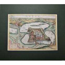 Houfnagel: Tata várának látképe /1617/