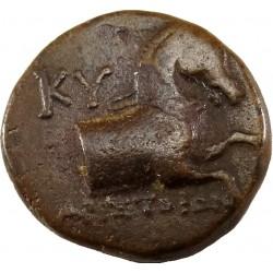 Aeolis-Kyme bronz drachma