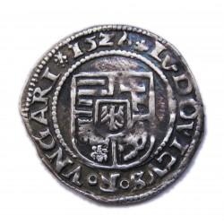 II. Lajos dénár (1526) A-hk-V