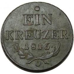I. Ferenc 1 krajcár (1816) O
