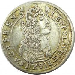 I.Lipót XV. karjcár 1676 K-B