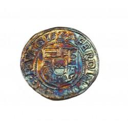 I. Ferdinánd dénár 1529 K-B Éh.745.